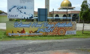 Eid Al Adha Programme at Masjid Kampung Bari Besar